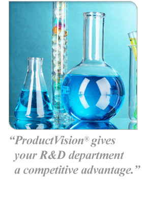 ProductVision® gives your R&D department a competitive advantage.